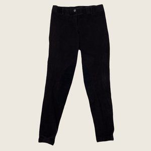 Elation Black Stretchy Pull On Riding Breeches